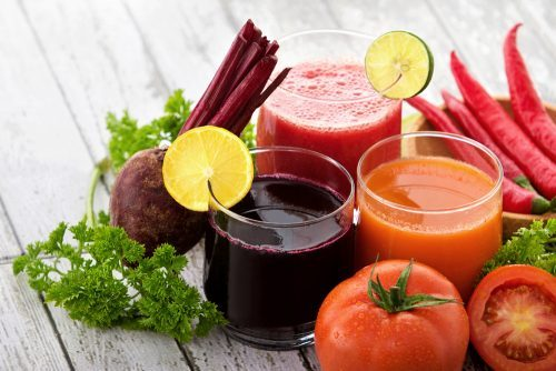 fruit and veg for juicing